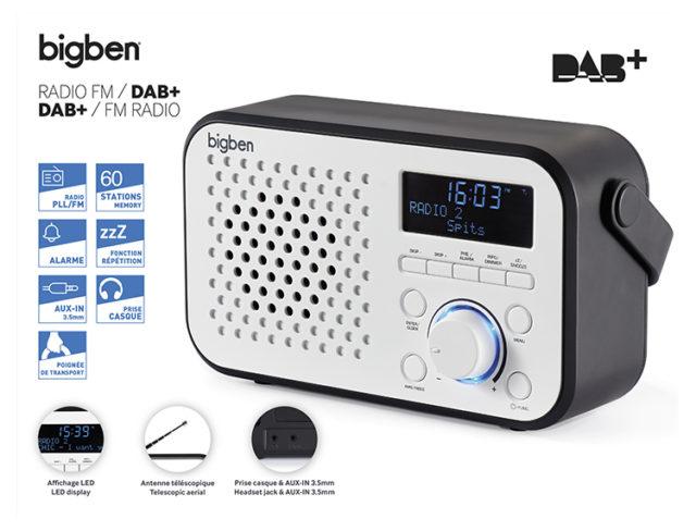 DAB+/FM RADIO TR24DAB BIGBEN – Image  #2tutu#3