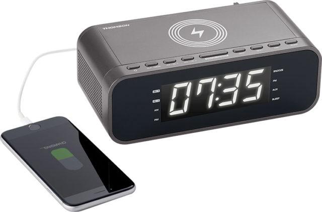 Clock radio with wireless charger CR225I THOMSON – Image  #2tutu#4tutu