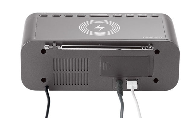 Clock radio with wireless charger CR225I THOMSON – Image  #2tutu#4tutu#5