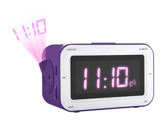 Radio Alarm clock with projection RR30PFAIRY4 BIGBEN KIDS – Image  #1