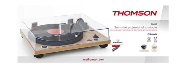 Professional turntable TT450BT THOMSON – Image  #2tutu