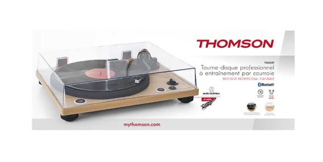 Professional turntable TT450BT THOMSON – Image  #2tutu#4tutu