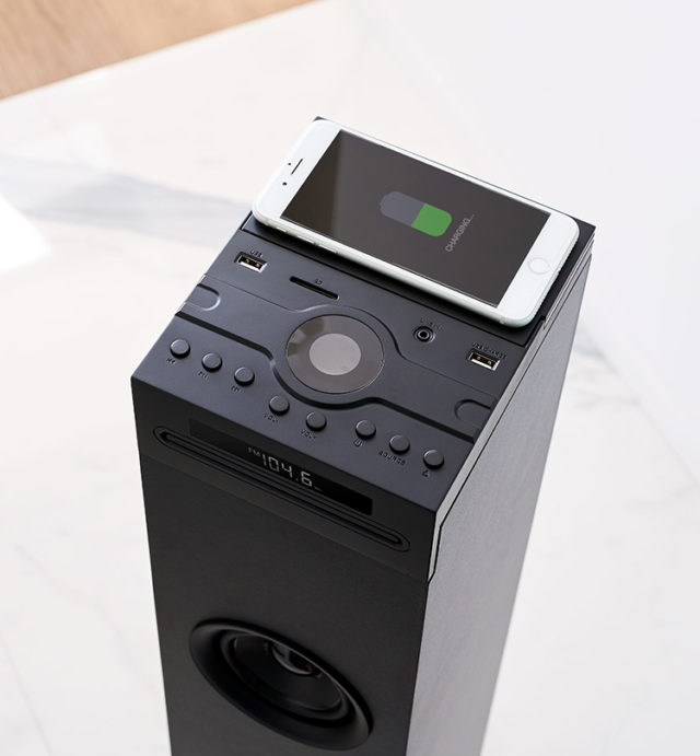Multimedia tower with wireless charger DS120ICD THOMSON – Image  #2tutu#3
