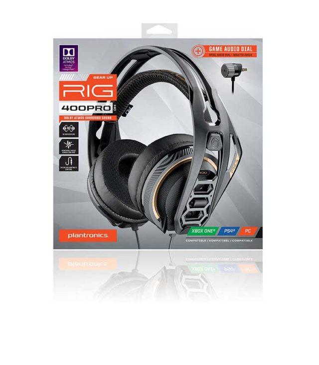 PLANTRONICS surround-ready gaming headset for console RIG 400PRO HC – Image  #2tutu