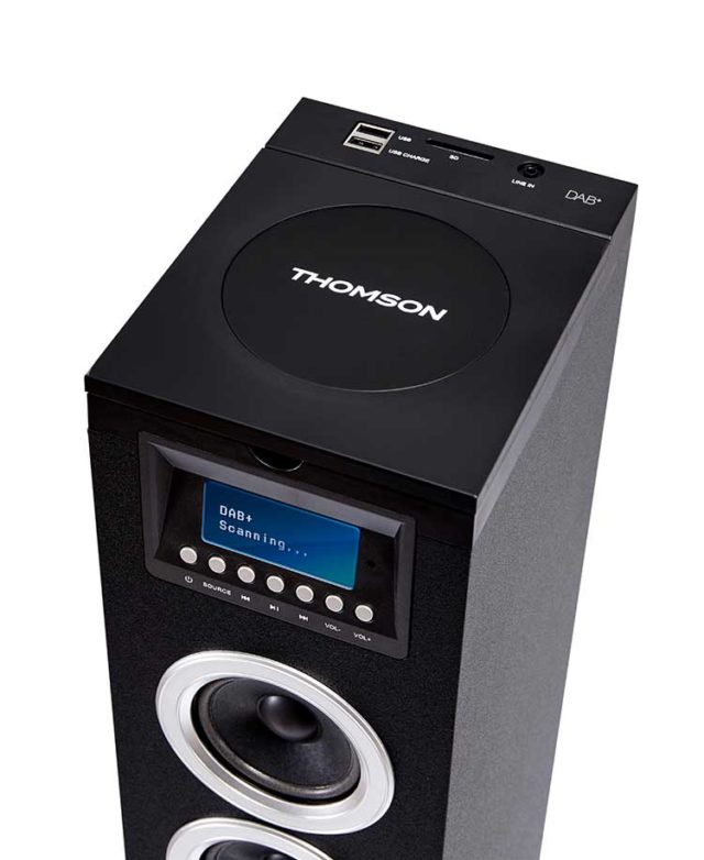 Multimedia tower/CD player DS120DABCD THOMSON – Image  #1