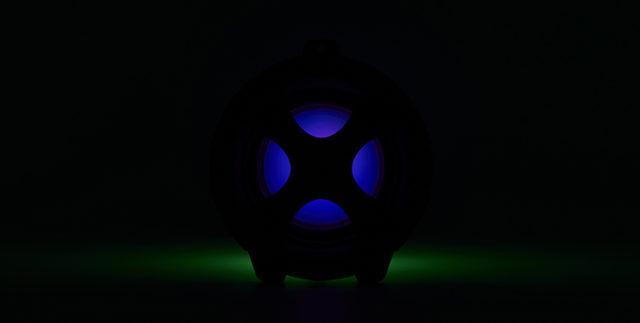 Lightning speaker bluetooth® CYCLONE401BK I DANCE – Image  #2tutu#4tutu