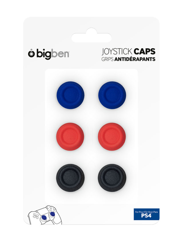 Thumb grips for dualshock®4 wireless controller – Image  #1